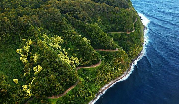 The Hana Highway, Hawaii