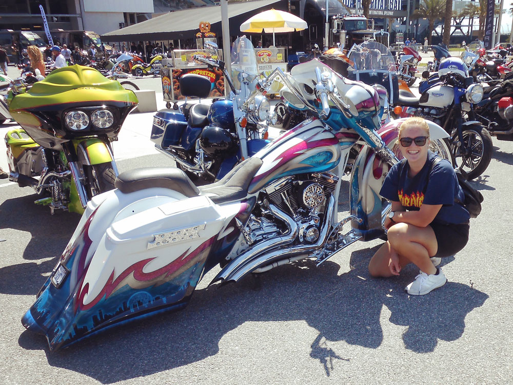 Au Pair at Daytona Bike Week