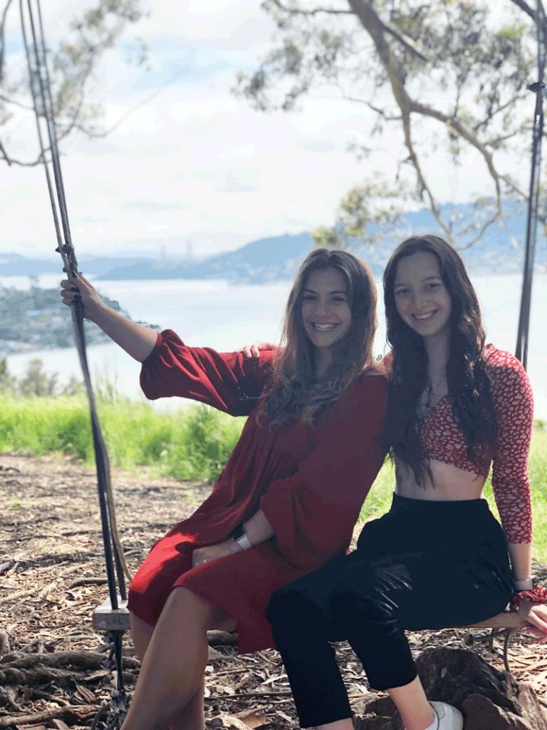 Au Pair Lea and Carla