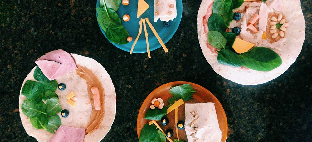 Food Art for your host kids